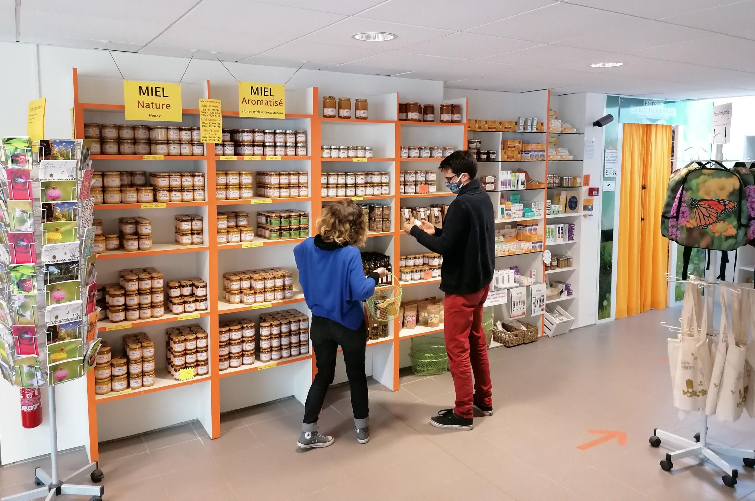 boutique de miels